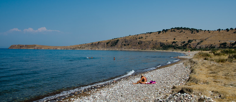 Kampos Beach, Lesvos, Greece