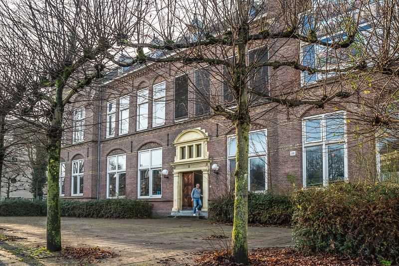 Voormalige HBS Zuideinde Meppel.  Foto: Wim Goedhart
