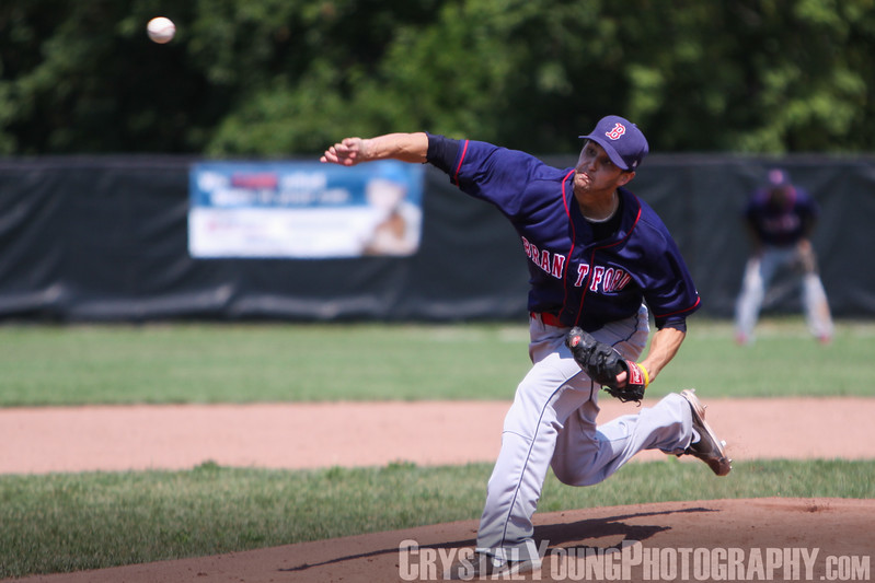 Brantford Red Sox at Burlington Twins IBL Playoffs, Round 1 Game 2 July 28,  2012