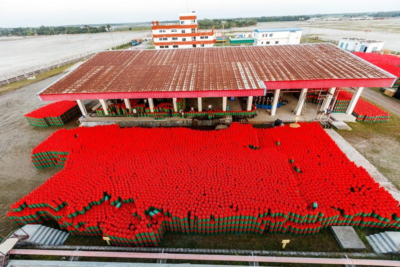 BEXIMCO LPG Plant in Bangladesh