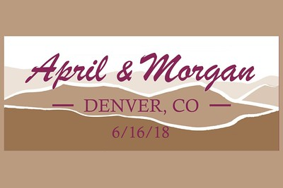April & Morgan Wedding - June 16, 2018