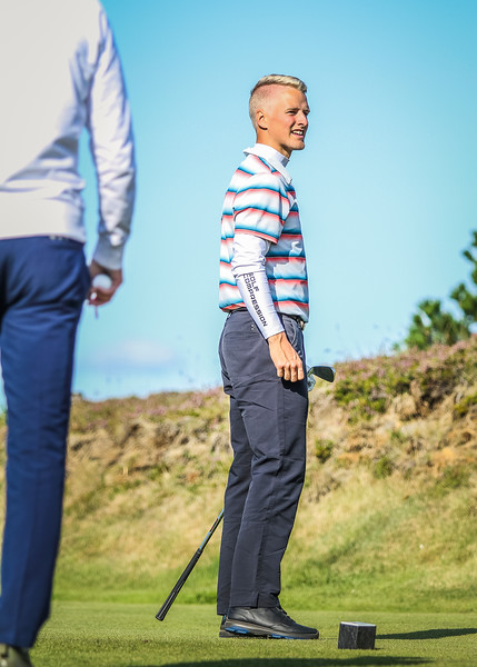 GK, Helgi Snær Björgvinsson Íslandsmót í golfi 2019 - Grafarholt 2. keppnisdagur Mynd: seth@golf.is