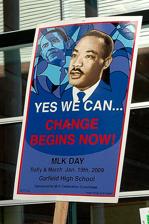 27th Annual Martin Luther King, Jr. March & Rally, 2009