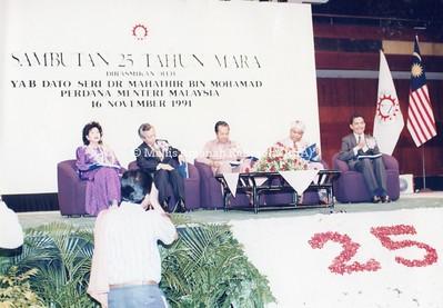 1991 - SAMBUTAN 25 TAHUN MARA