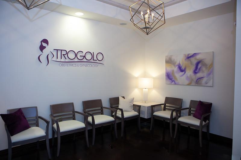Dr. Trogolo's Office Branding Images