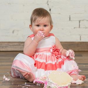 Ella Longley Turns 1!- Baby Studio Portraits