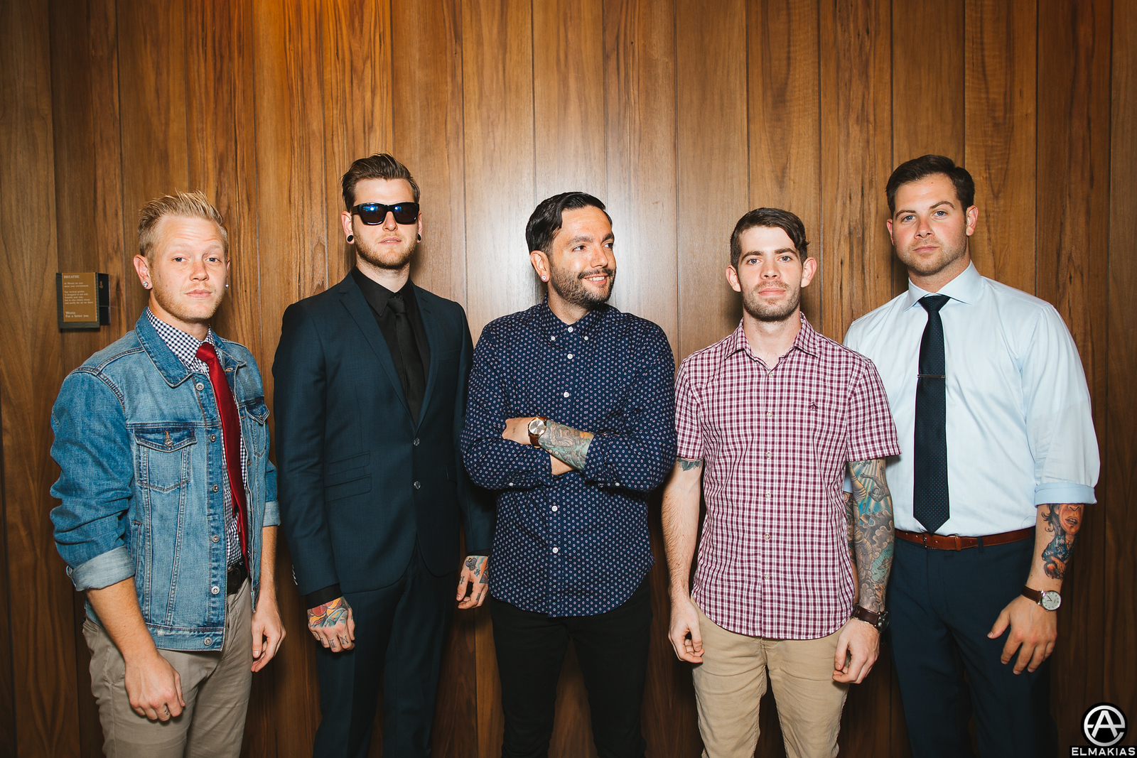 A Day To Remember before the Alternative Press Music Awards