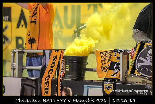Charleston  BATTERY v Memphis 901   10.16.19