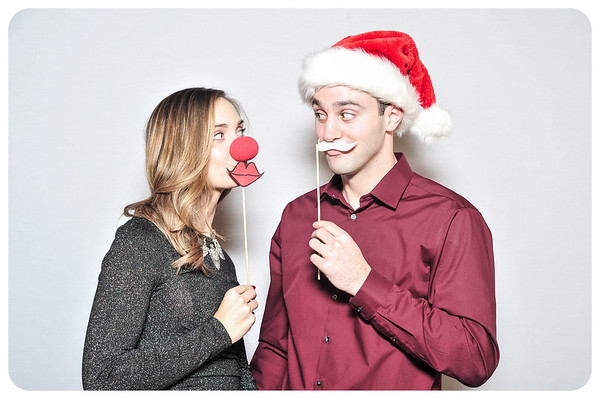 WDTN-TV Holiday Photobooth