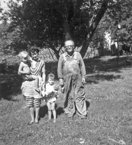 Martha and Ed Wilcox in Glandreau, SD
