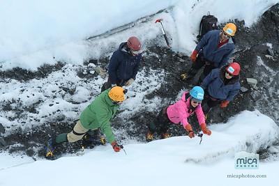 August 31 Ice Climb with Scott
