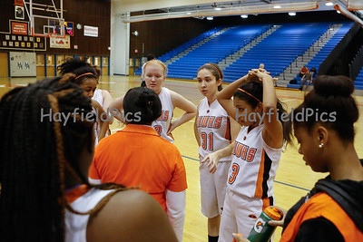 Girls Basketball JV Chantilly 12/17/13