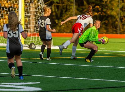 Set four: Vashon Island High School Girls JV Soccer v Seattle Academy 10/30/2019
