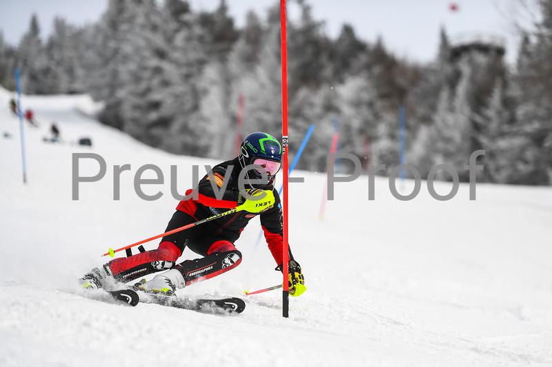2021-03-13 Club De Ski U16 SL Erik Guay