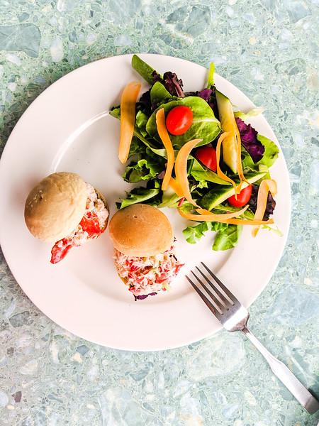 Gaspereau Winery lobster slider and salad-2.jpg