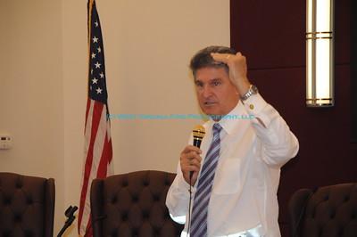 Senator Manchin Visits Ripley, WV