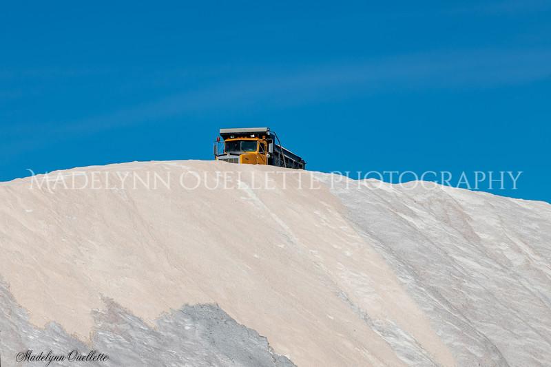 Cresting the Portsmouth Salt Piles