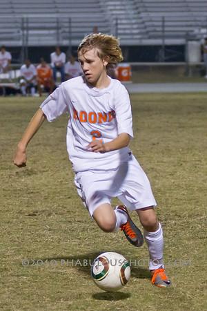 Senior Night - Seminole @ Boone Boys Varsity Soccer - 2011