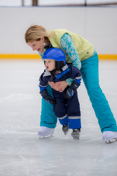 Dillon skates w June