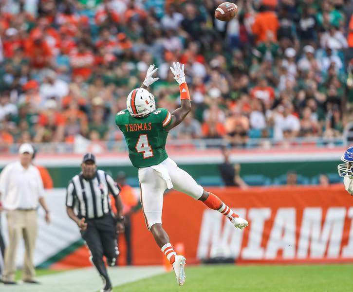 2018 University of Miami Football vs. Savannah State