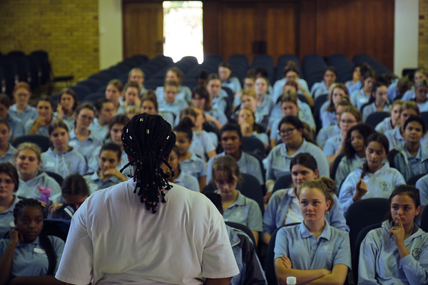 2020 The Anzisha Prize Tour @ Springfield Convent School in Cape Town, South Africa.