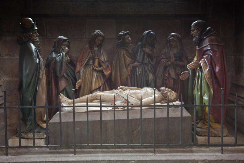 Moulins, Notre-Dame Cathedral, The Entombment