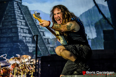 Iron Maiden - 15/06/16 @ Telenor Arena, Oslo.