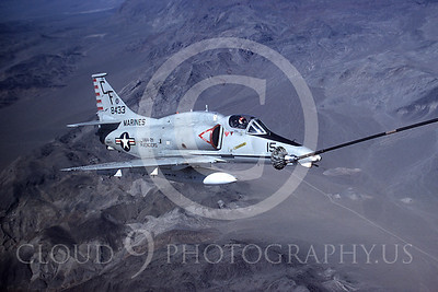 US Navy Douglas A-4 Skyhawk Aerial Refueling Pictures