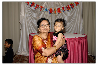 Reema's 1st Birthday