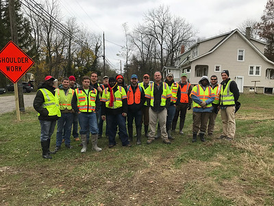 11.17.18 Herbert Run Cleanup near the Ingleside Community