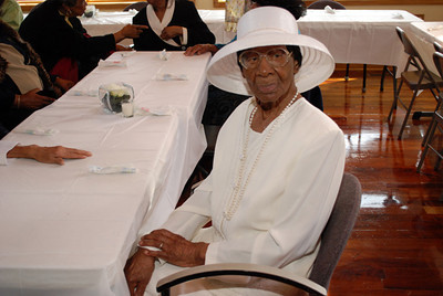 Ms Willie May Hardy 104th Birthday party