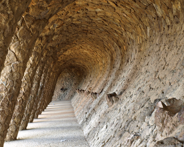 Parc Guell Archway  Order Code: B15