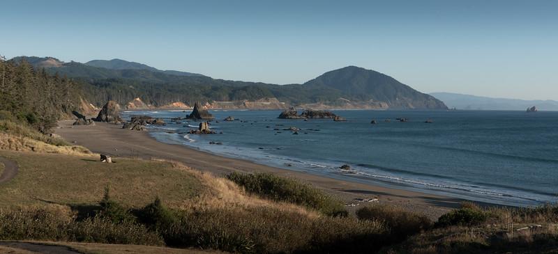 Late afternoon on the Oregon Coast