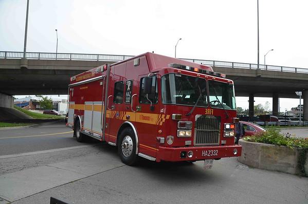 September 7, 2012 - CBRN Response - 2472 Eglinton Ave. E.