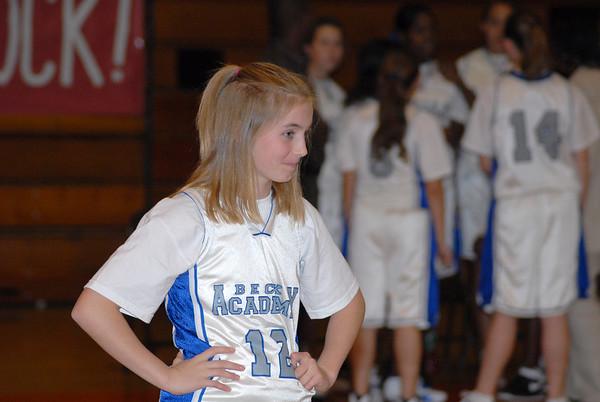 Girl's Basketball Beck V Hughes