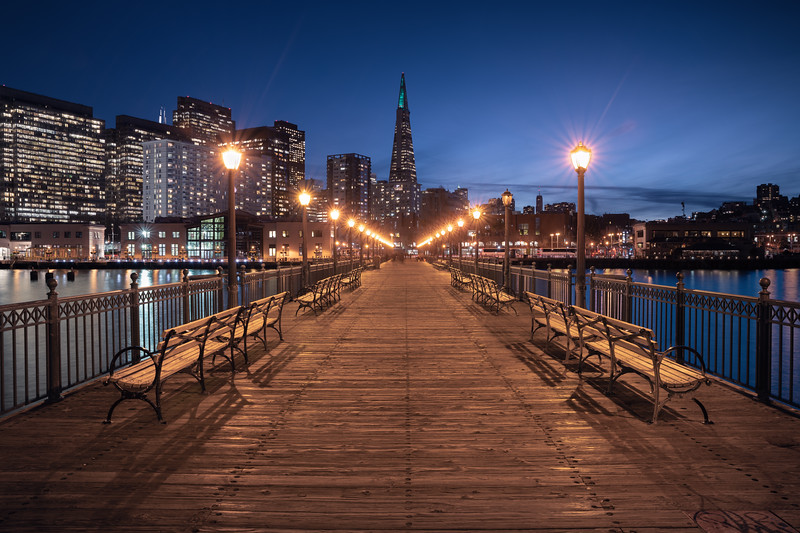 Night Time on the Pier || San Francisco