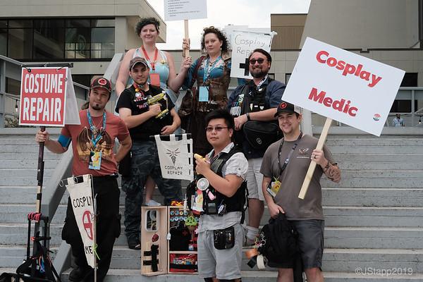 Cos-Medics - The Hero's Heroes.