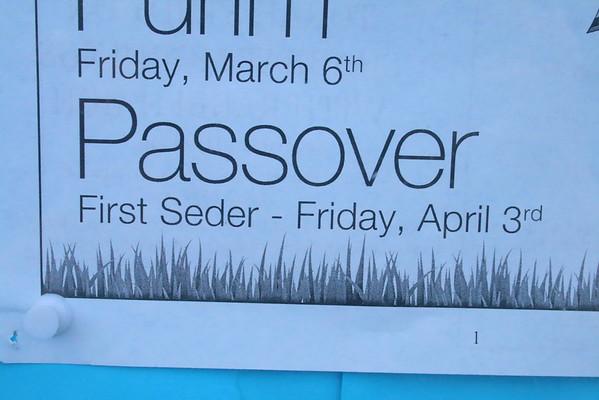 Passover Dinner, Shir Shalom