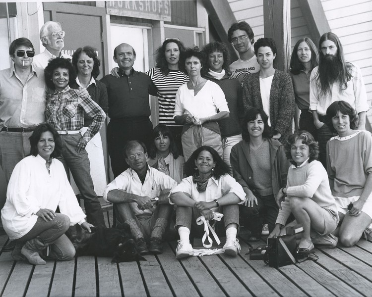 1983 - group photo 7 - Gill Dennis, Anna Deveare-Smith, Nancy Kelly.jpeg