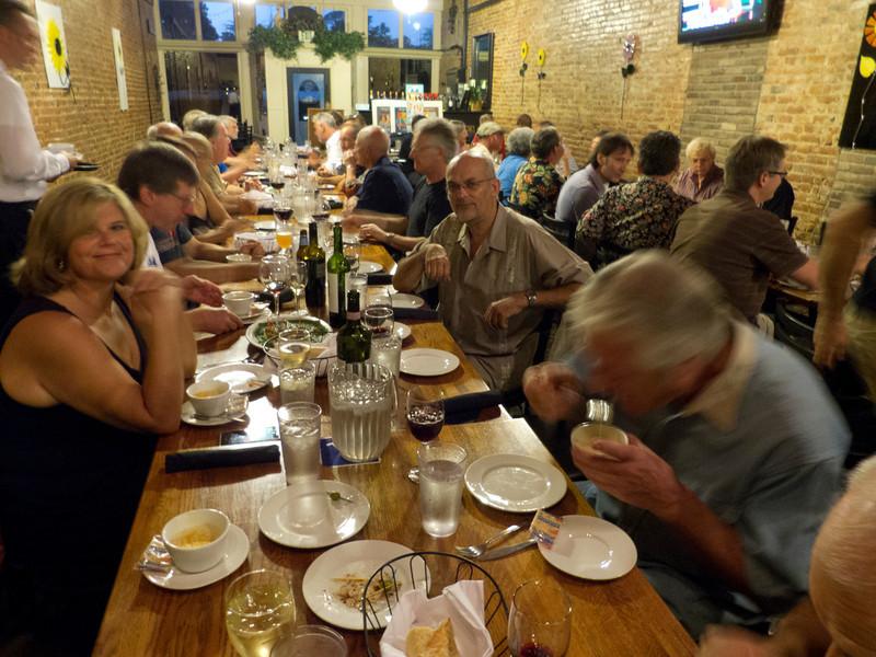 Dinner at Luceddi's