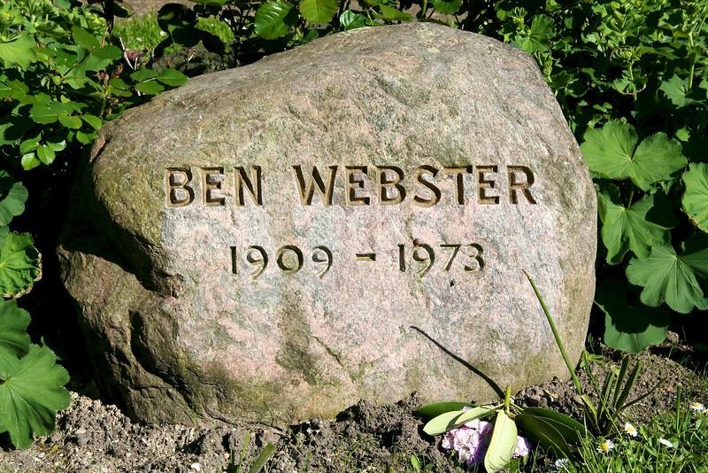 Assistens Kirkegård - maj 2006 Grave of Ben Webster