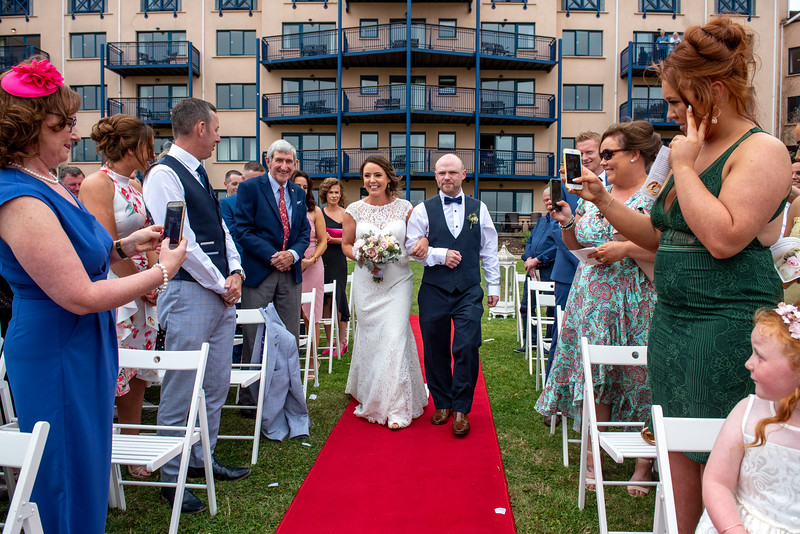 Outdoor Ceremony at Ferrycarrig