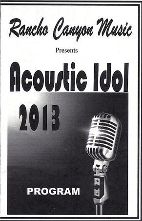 Acoustic Idol 2013