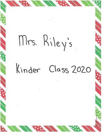 Mrs. Riley's Kindergarten Letters to Santa