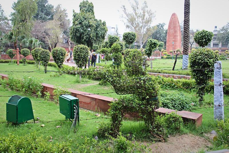 Jallianwala Bagh Gardens in Amritsar