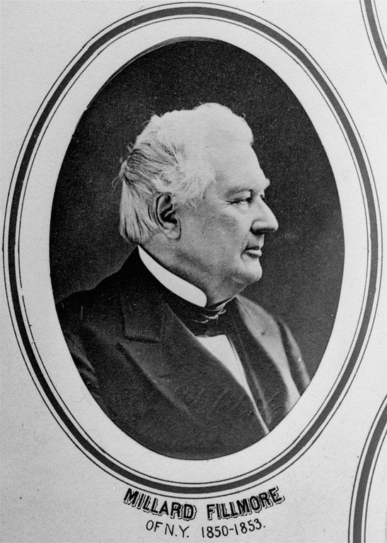 . Millard Fillmore of the Whig party, 13th U.S. president, 1850-53.  (AP Photo)