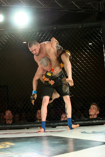 Jeff Paradise vs Shane Cadotte