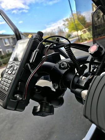 KTM1290 Amateur Radio Install