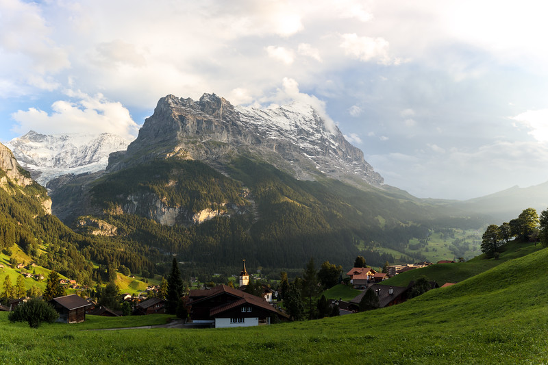 Grindelwald with Eiger