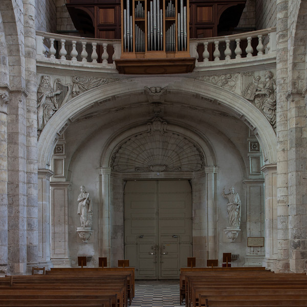 Saint-Benoit-sur-Loire Abbey Entrance